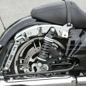 HARLEY AIR RIDE KIT FOR BAGGER AND TOURING MODELS WITH VIAIR 98C AIR COMRESSOR
